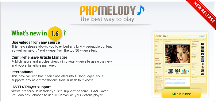Php Melody 1.6 Nulled